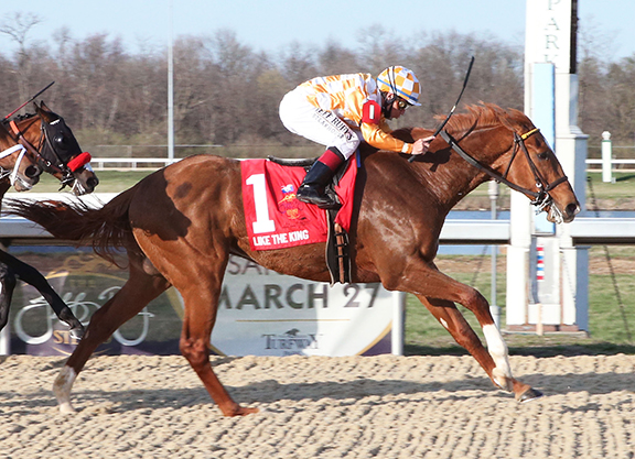 Palace Malice's Like the King draws post 2 for Kentucky Derby (G1)